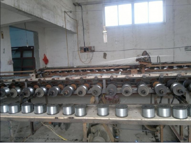 galvanized iron wire produce process