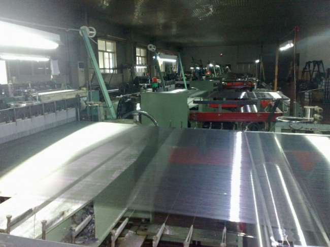 Stainlesss steel wire mesh production workshop
