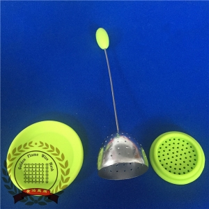 Silicone Tea Infuser With Wire Handle