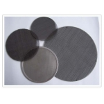 Wire mesh disc filter