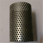 Metal perforated pipe