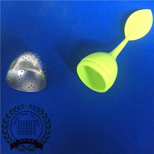 Silicone Leaf Handle Tea Infuser