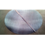 Large diameter stainless steel wire mesh filter
